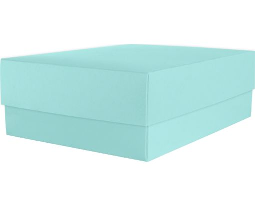 Medium Gift Boxes (5 5/8 x 7 11/16 x 2 1/2) Seafoam