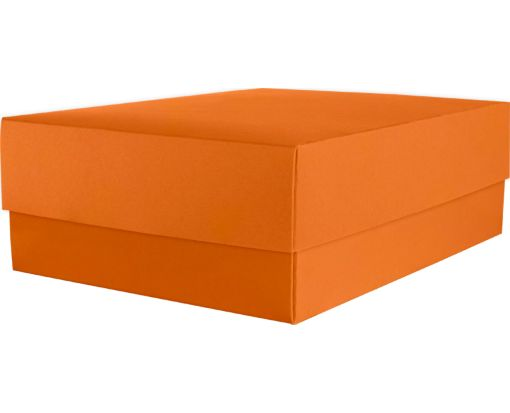 Medium Gift Boxes (5 5/8 x 7 11/16 x 2 1/2) Mandarin