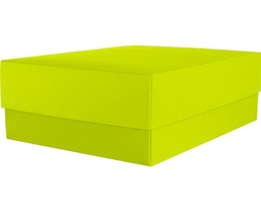 Medium Gift Boxes (5 5/8 x 7 11/16 x 2 1/2) Wasabi