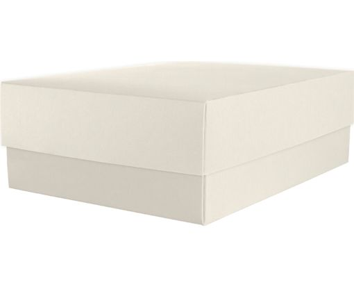 Medium Gift Boxes (5 5/8 x 7 11/16 x 2 1/2) Natural Linen