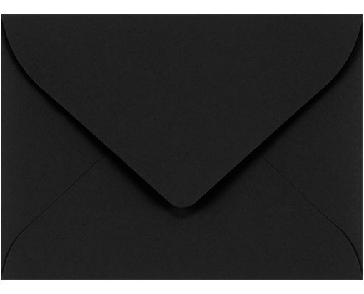 #17 Mini Envelopes (2 11/16 x 3 11/16) Midnight Black