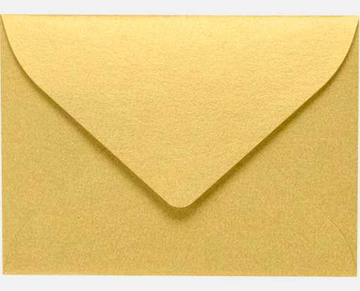 #17 Mini Envelopes (2 11/16 x 3 11/16) Gold Metallic