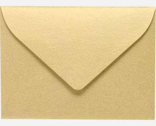 #17 Mini Envelopes (2 11/16 x 3 11/16) Blonde Metallic