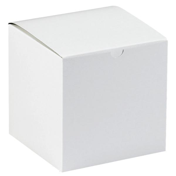 Gift Boxes (6 x 6 x 6) White