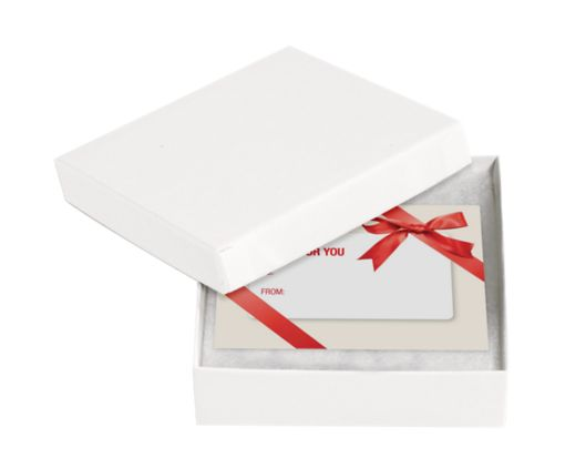 Jewelry Gift Boxes White