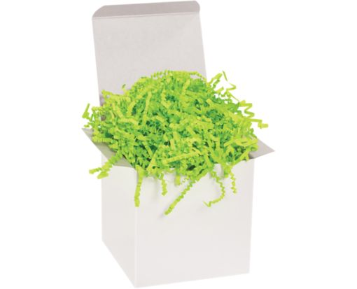 Crinkle Paper Lime Green