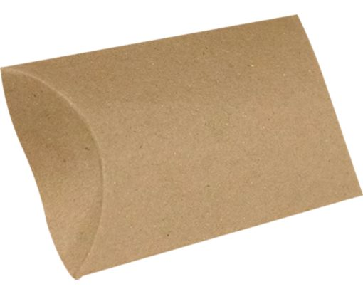 Medium Pillow Boxes (2 1/2 x 7/8 x 4) 18pt. Grocery Bag