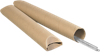 3 x 12 Crimped End Tubes Brown Kraft
