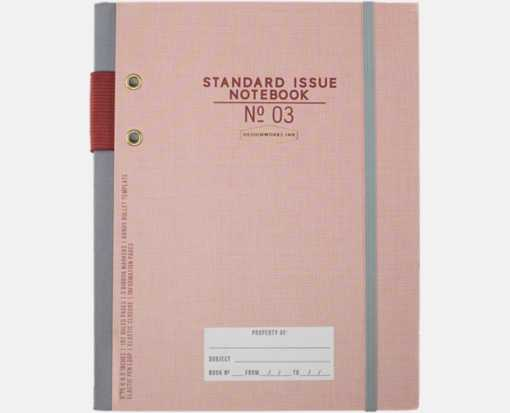 No. 3 Planner Notebook (6.75 x 8.5) Dusty Pink