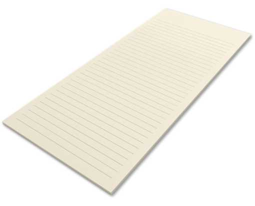 8 1/2 x 11 Ruled Notepad (50 Sheets/Pad) Natural 30% Recycled - Ruled