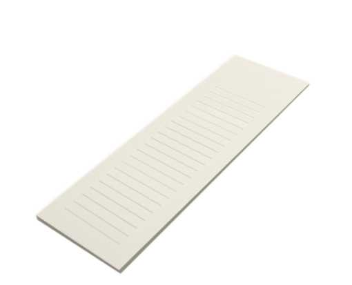 3 x 8 Ruled Notepad (50 Sheets/Pad) Natural 30% Recycled 80lb.