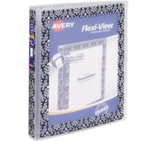 """1"""" Flexi-View Binder with Round Rings"""