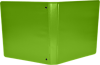 """1"""" Earth Friendly View Binders Bright Green"""