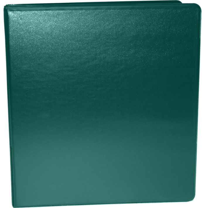 """1"""" Earth Friendly View Binders Forest Green"""