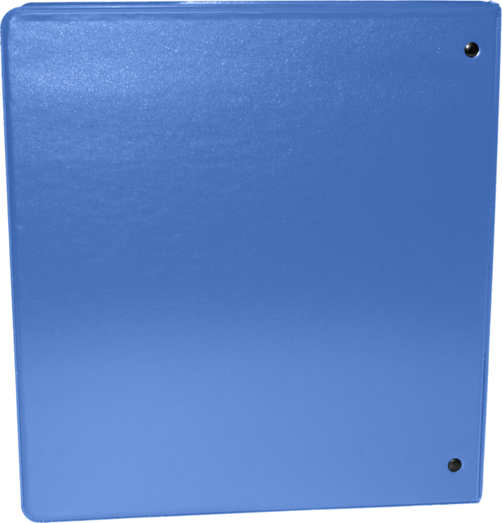 "1"" Earth Friendly View Binders Hawaiian Blue"