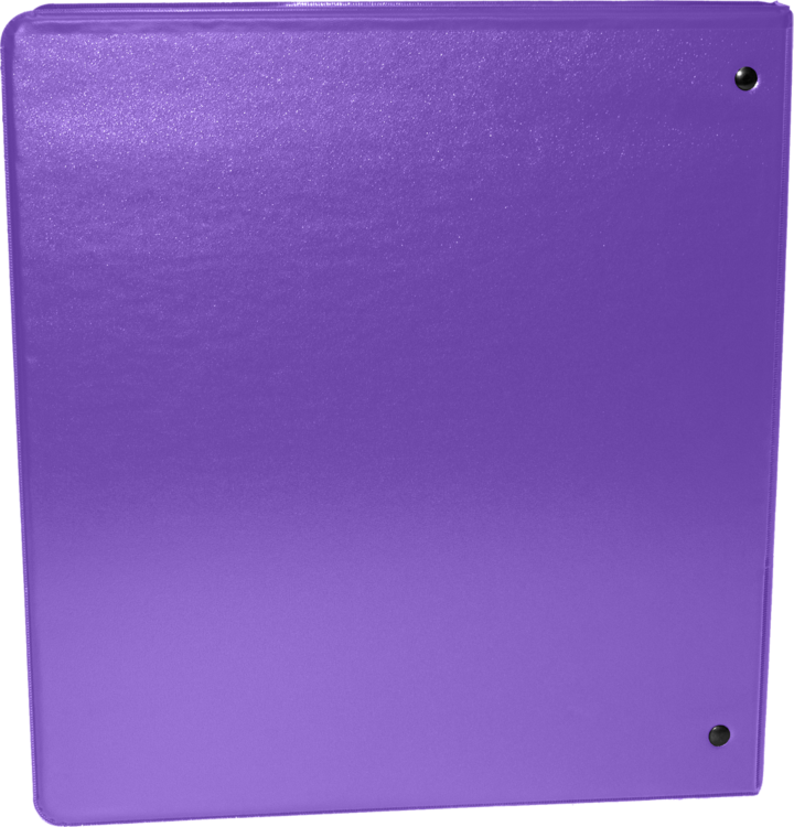 "1"" Earth Friendly View Binders Purple"