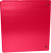 "1"" Earth Friendly View Binders Red"
