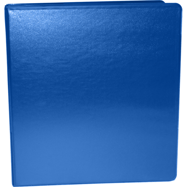 "1"" Earth Friendly View Binders Royal Blue"