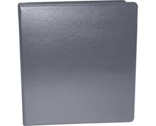 "1"" Earth Friendly View Binders Gray"