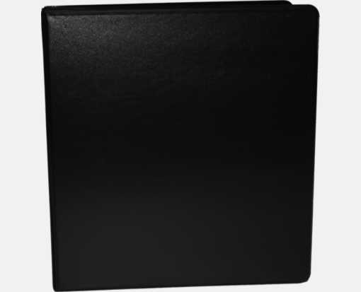 "1 1/2"" Earth Friendly View Binders Black"
