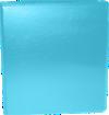 "1 1/2"" Earth Friendly View Binders Cool Aqua"