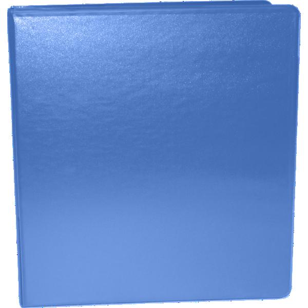 "1 1/2"" Earth Friendly View Binders Hawaiian Blue"