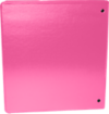 "1 1/2"" Earth Friendly View Binders Hot Pink"