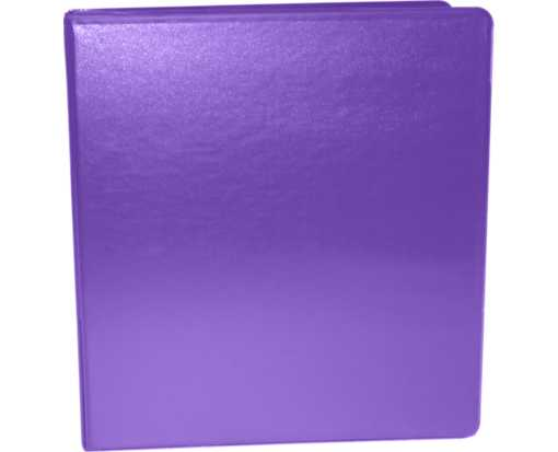 "1 1/2"" Earth Friendly View Binders Purple"