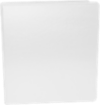 "1 1/2"" Earth Friendly View Binders White"