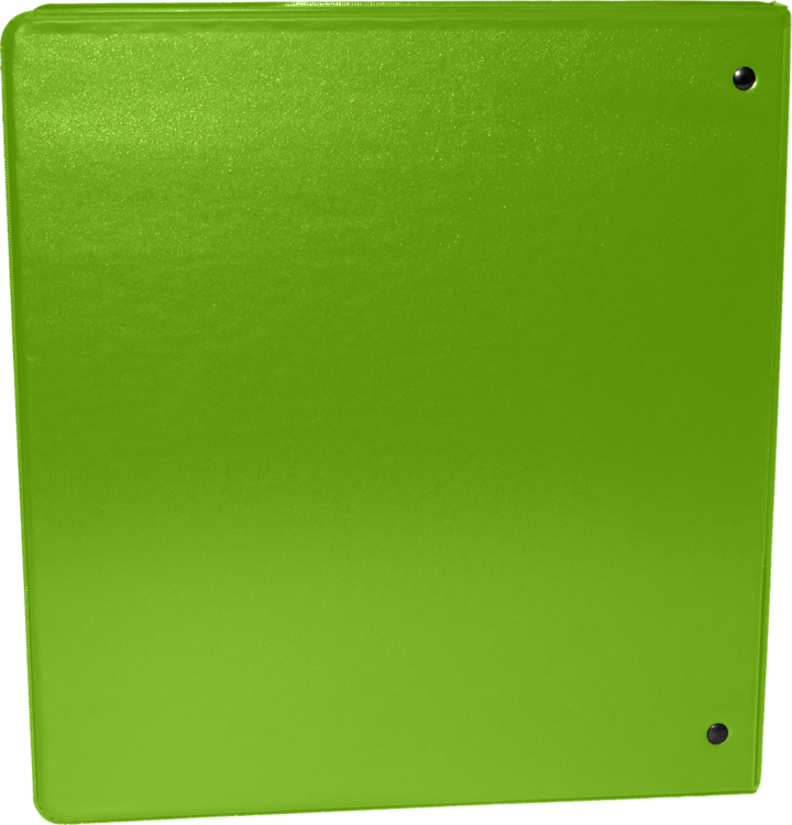 "2"" Earth Friendly View Binders Bright Green"
