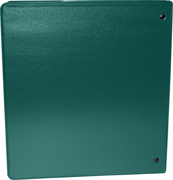"2"" Earth Friendly View Binders Forest Green"