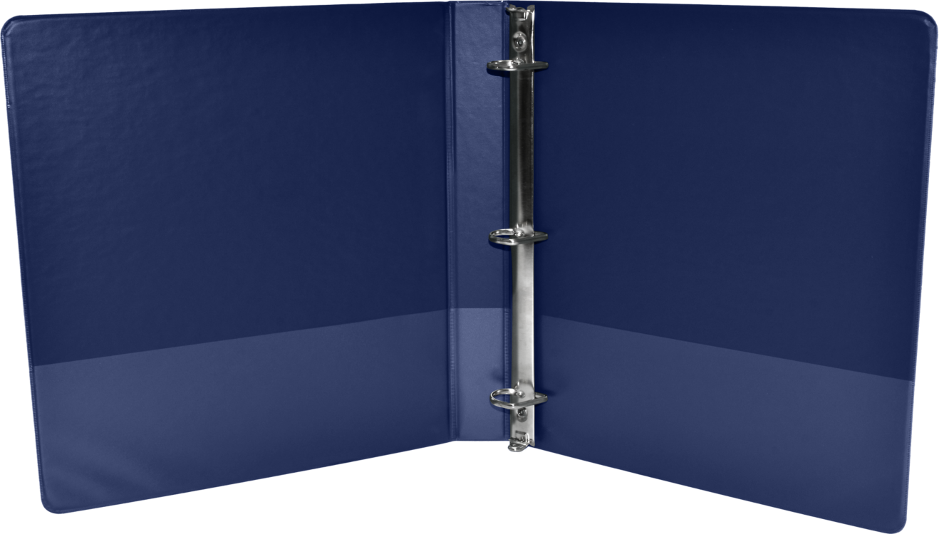 "2"" Earth Friendly View Binders Navy"