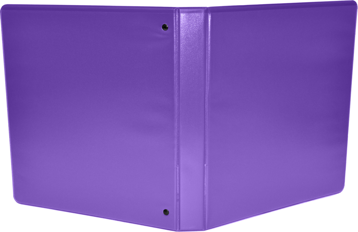 "2"" Earth Friendly View Binders Purple"