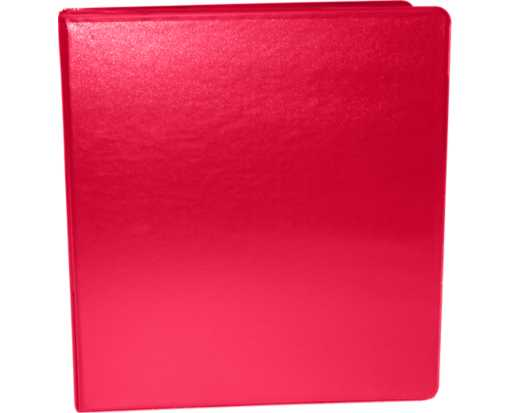 "2"" Earth Friendly View Binders Red"