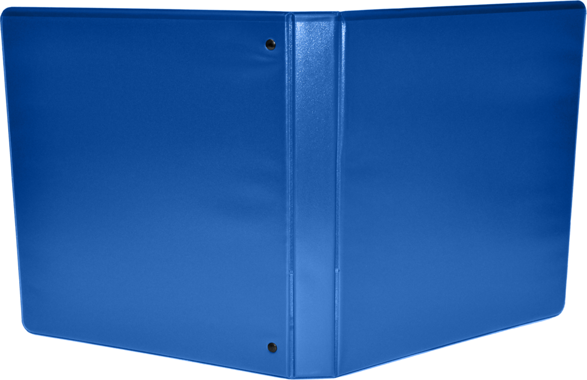 "2"" Earth Friendly View Binders Royal Blue"