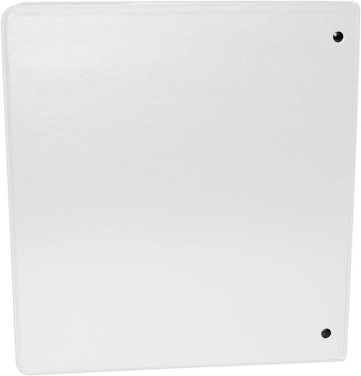 "3"" Earth Friendly View Binders White"