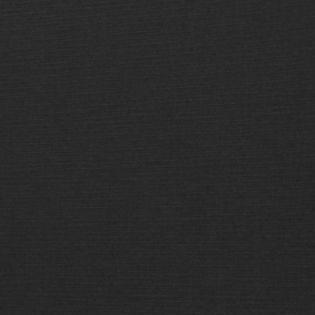 Black Linen - Gold Foil Floral Border 100lb.