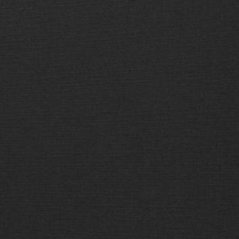 Black Linen - Silver Foil Floral Border 100lb.