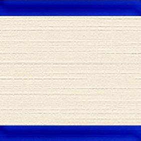 Natural Linen w/ Blue Puzzle Border 100lb.