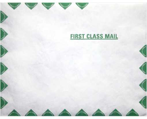 10 x 13 Open End Envelopes 14lb. Tyvek First Class