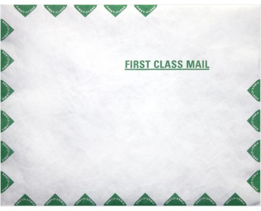 9 x 12 Open End Envelopes 14lb. Tyvek First Class