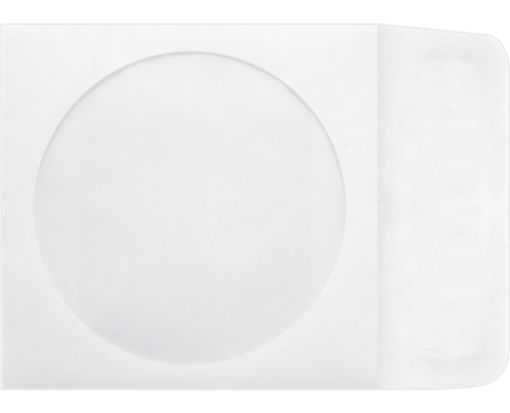CD Window Envelopes (5 x 4 7/8) 14lb. Tyvek