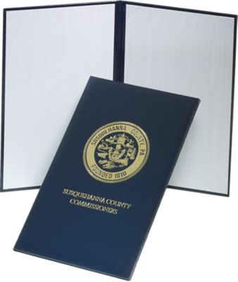 """Padded Diploma Cover - 8 1/2"""" x 14"""" Size w/ Landscape Orientation"""