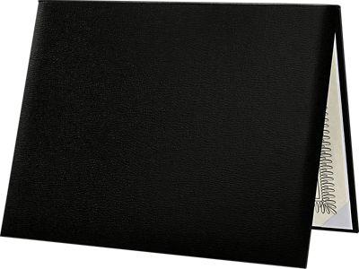 Diploma Cover - Padded Black