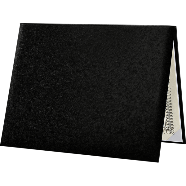 Diploma Cover - Padded Black