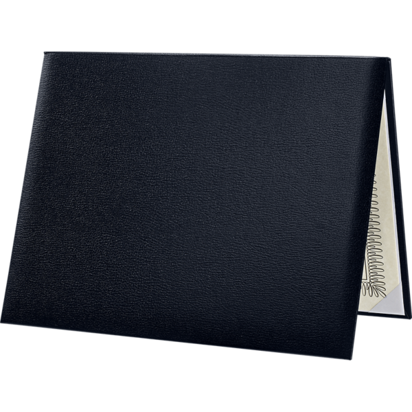 Diploma Cover - Padded Navy