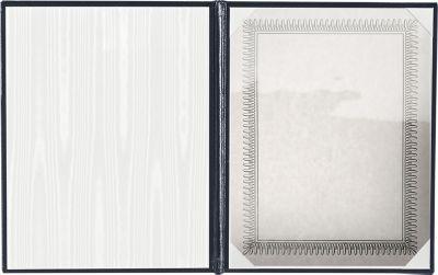 Diploma Cover - Padded Navy
