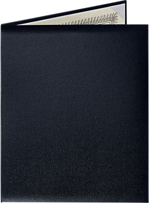 "Padded Diploma Cover - 8 1/2"" x 11"" Size w/ Portrait Orientation"