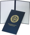 """Padded Diploma Cover - 8 1/2"""" x 14"""" Size w/ Portrait Orientation"""
