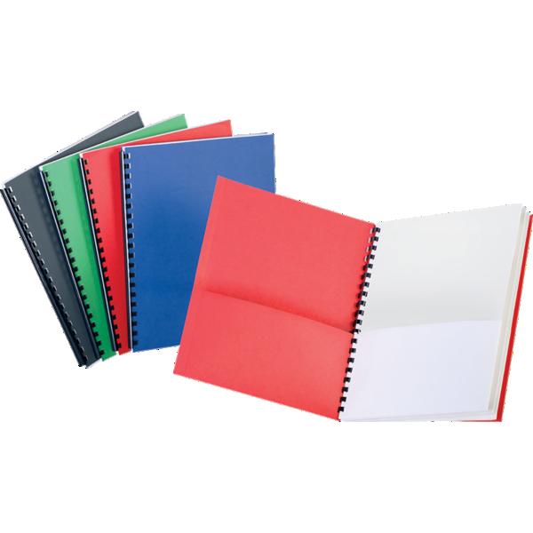 Oxford® 8 Pocket Folders Assorted w/ White Pockets